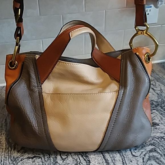 12aca41b47cf OrYany Leather Shoulder Bag. M 5abe89553a112e875b0443fa